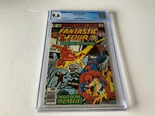 FANTASTIC FOUR 207 CGC 9.6 WHITE PAGES SPIDER-MAN VS TORCH MARVEL COMICS 1979