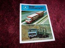 Catalogue / Brochure MERCEDES BENZ Wandler Shaltkupplung W25 V8/V10 1977 //