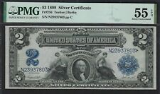 Currency (US) - Fr#256 - $2 1899 Silver Certificate - About Unc FrCatVal $900.00