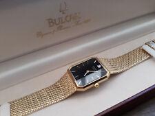 Bulova Vintage Quartz Uhr mit Box TOP Zustand