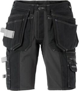 Fristads Stretch shorts woman 2527 CYD Black Craftsman Shorts