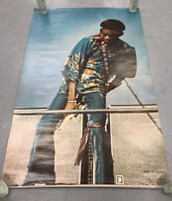 Jimi Hendrix 1976 POSTER One Stop Posters Kevin Goff ORIGINAL