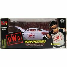 Konnan World War 3 1998 WCW Nitro-Streetrod NIB Racing Champions 1:24 Scale NIP