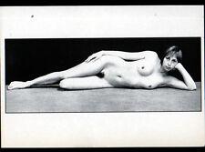 NATURISME / FEMME Françoise N°1 coté face , par Bernard DELFRAISSY