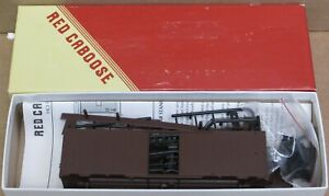 Red Caboose RC-8001 1937 AAR 40' Boxcar Undec. Kit HO-Scale NOS