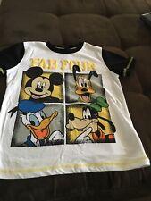 Disney, Okie Dokie, Mickey, Goofy, Pluto & Donald t-shirt size 6