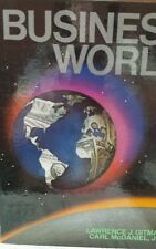 Business World by Carl McDaniel and Lawrence J. Gitman (1983, Hardcover)