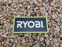Ryobi Power Tool Metal SIGN Cordless Drill Work shop Garage 6x12 50207