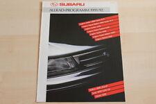 74541) Subaru Legacy Justy Libero 1200 Prospekt 12/1991