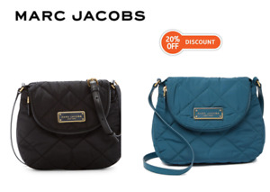 Marc Jacobs Quilted Nylon Mini Messenger Bag M0011379 NWT