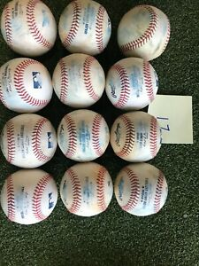 Major League Baseballs- Used