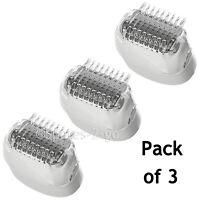 BRAUN Genuine Silk-Epil 5 7 Epilator Shaver Head SE5780 SE7280 SE7681 SE7871 x 3