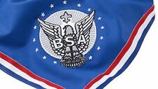 BOY SCOUT OFFICIAL LICENSED BSA EAGLE SCOUT EMBROIDERED NECKERCHIEF BIG 49 X 35""