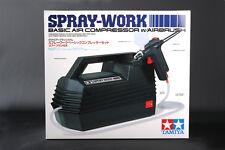Tamiya Spray-Work Basic Compressor & Airbrush Painting Set Kit #74520 OZ RC