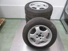 RUOTA-Set di cerchi ALU 7,5x16 et41 con pneumatici Pirelli 215/60 r16 99 H KBA 44870
