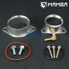 Turbo Compressor Inlet + Outlet Flange Adapter for Nissan 300ZX Z31 Z32 VG30DETT