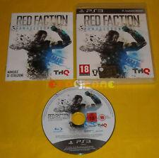 RED FACTION ARMAGEDDON Ps3 Versione Ufficiale Italiana 3 »»»»» COMPLETO