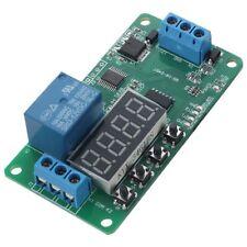5X(DC 12V Multifunction PLC Self-lock Delay Relay Cycle Timer Module Switc S1N2)