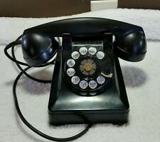 Vintage Telephone Phone Western Electric Rotary Dial Bell Systems Black