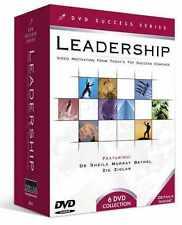 NEW 6 dvd Leadership Training Zig Ziglar (Hard to find) Ret $ 60.00