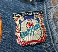 Nos vtg 80s 1988 licensed Dokken enamel pin * for shirt jacket hat Glam Metal