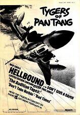 """NPBK12 ADVERT  15X11"""" TYGERS OF PANTANG : HELLBOUND"""