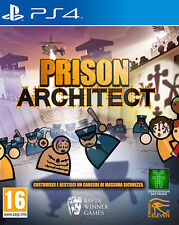 Prison Architect PS4 Playstation 4 IT IMPORT SOLD OUT PUBLISHING