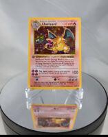 *REPLICA* Pokémon NON HOLO 1st Edition Shadowless Charizard 4/102 Base Set