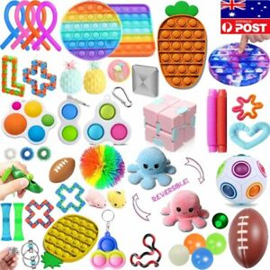 Fidget Toys Set Sensory Toys Pack Stress Relief ADHD Autism Hand Toy Kids Adults