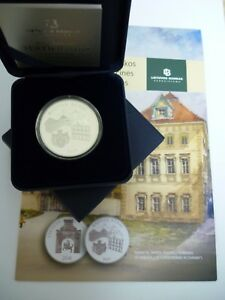 2017 Lithuania 20 €  coin dedicated to the Radziwiłł Palace