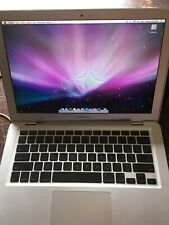 "Apple MacBook 13.3"" Laptop 2009 1.8Ghz Core 2 Duo 2GB Working/ broken hinge"