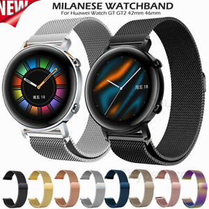Milanese Stainless Steel Wrist Band Straps For Samsung Galaxy Watch 3 41mm 45mm