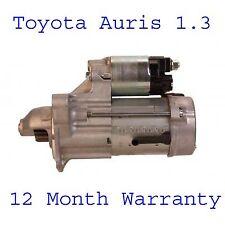 Toyota Auris 1.3 hatchback 2009 2010 2011 2012 starter motor