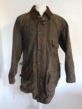 BARBOUR Solway Zipper 2 Crest A98 Vintage 42 inch 107cm Wax Jacket
