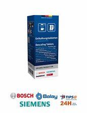 Pastillas Descalcificadoras cafetera Bosch Siemens 6 Ud.