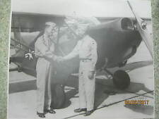 1940's ex lg real US Army Photograph W.W. Ford General Hutton L-5 Exch Command