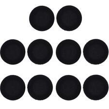 "5 pairs 10x45mm Foam Pads Ear Pad Sponge Earpad Headphone Cover For Headset 1.8"""
