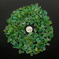 green lime sea beach glass small 50 pieces lots bulk 8-12mm jewelry use