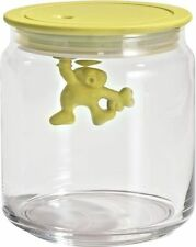 A di Alessi - AMDR04 Y Gianni Kitchen box with hermetic lid, 70cl Yellow