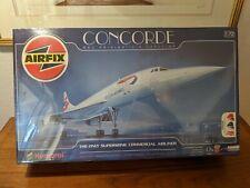 Airfix 1:72 Concorde BAC Aerospatiale Concorde Plastic Model Kit #11050  Humbrol
