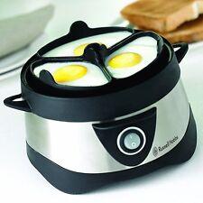 Russell Hobbs Cook@Home 14048-56 Eierkocher (für gekochte und gedämpfte Eier)