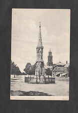 c1910 View of Banbury Cross & Church, Oxfordshire