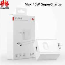Original HUAWEI 40W SuperCharge Charger Wall Adapter 5A Cable For Huawei P30 Pro