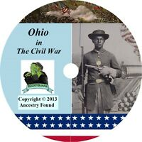 Ohio Civil War Books History & Genealogy 72 Books