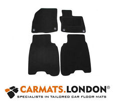 Honda Civic Type R 2008 - 2012 Tailored Car Floor Mats Fitted Set in Black