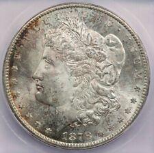 1878-CC Morgan Silver Dollar ICG MS63