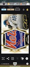 Topps Bunt Iconic MLB Jacob DeGrom New York Mets 10cc Five Star 2019 Autograph