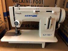SEWLINE NEW 146-7 PORTABLE  WALKING FOOT  ZIG ZAG INDUSTRIAL  SEWING MACHINE