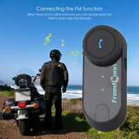 800M T-BT Bluetooth Helmet Headset Intercom Motorcycle Interphone 3 Riders FM