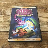 Alice in Wonderland DVD 2004 2-Disc Set The Masterpiece Edition Walt Disney